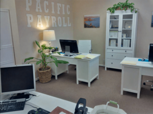 inside Pacific Payroll Group office