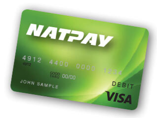 NatPay payroll cards for employees